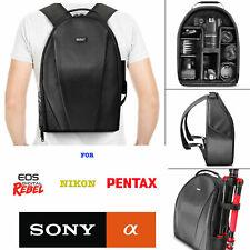 VIVITAR CAMERA BACKPACK BAG + REMOTE FOR NIKON D3100 D3300 D5000 D5100 D5200 D90