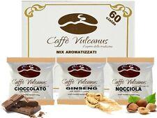60 cialde Caffè Vulcanus - Nocciola, ginseng e cioccolato - ESE 44 mm