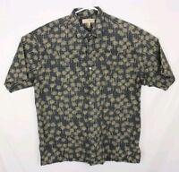 Tori Richard Hawaiian Men's Button up Shirt Size XL 100% Cotton Lawn Vintage