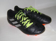 Adidas Conquisto Ii Fg Men's Soccer Cleats Shoes Aq4311 size 7.5 Black Silver