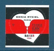 Timbre Y&T n°???? Coeur Sonia Rykiel 0,80€ autoadhésif neuf** (issu de feuille)