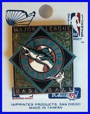 MIAMI / FLORIDA MARLINS BASEBALL Vintage Stock HAT LAPEL PIN New on Display Card