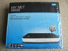 New WD My Net N600 HD Dual Band Router Wireless N Wi-Fi Router Accelerate HD