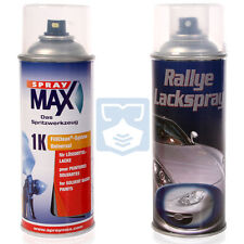 Mercedes Autolack 744 Brilliantsilber Spraydose 2x 400ml Lackspray +Klarlack Set