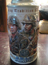 "1998 HONORING TRADITION AND COURAGE ""ARMY"" LIDDED STEIN"