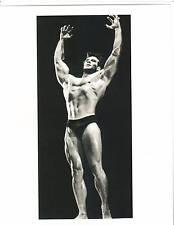 STEVE REEVES Mr World / Mr Universe /Mr America Bodybuilding Muscle Photo B&W