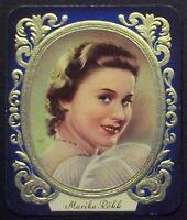 Marika Rökk 1936 Garbaty Passion Film Star Embossed Cigarette Card #148