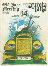 Plakat OLD JAZZ MEETING Złota Tarka 1980 -  Jacek Bieńkowski Polish Jazz Posters