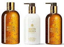 Molton Brown Mesmerising Oudh Accord & Gold Shower GEL, Hand Wash, Lotion 300ml