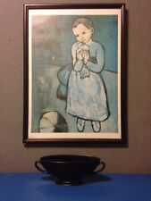 Picasso boy with dove framed poster print large