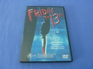 Friday The 13th DVD R4 Betsy Palmer Adrienne King Free Postage