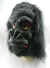 Gorilla Fancy Latex Head Mask 2 Teeth King Kong Costume Holloween Party Cosplay