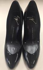 Brand New Giuseppe Zanotti black round-toe pumps Size 6