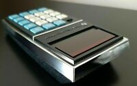 Vintage Texas Instruments 1500 (TI-1500) Genuine Electronic Calculator and Case