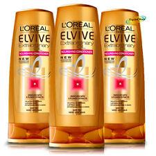 3x Loreal Elvive For Women Extraordinary Oil Nourishing Conditioner 400ml
