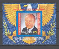 Francobolli a tema personaggi e figure da Guinea Equatoriale