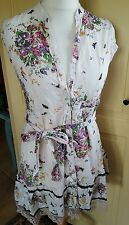 QED London Ladies Beautiful Floral Dress Size 12