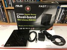 ASUS RT-N56U 300 Mbps 4-Port 10/100 Wireless N600 Router Dual Band In Box