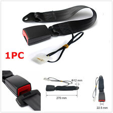 High Quality Plastic Car Front Seat Belt Buckle Socket Plug With Warning Cable