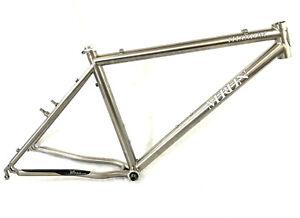 Merlin Titanium Vintage Mountain Bike Frame Double Butted 3/2.5 Ti