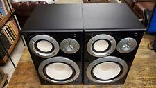 YAMAHA NS-6490 3-Way Bookshelf Speakers, Black Finish (Pair) NICE!
