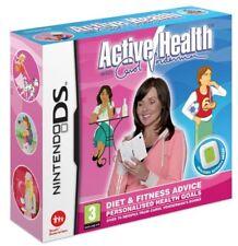 ACTIVE HEALTH WITH CAROL VORDERMAN Nintendo DS INCLUDES ACTIVITY METER, BOXED