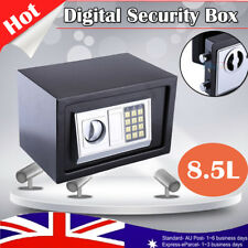 8.5L Electronic Safe Digital Security Box Home Office Cash Deposit Password Case