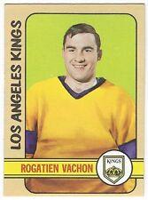 1972-73 TOPPS HOCKEY #51 ROGATIEN VACHON - EX/EX+