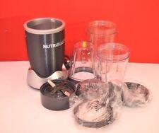 Nutribullet Magic Bullet NB-101S Gray Blender Mixer 600W w/Accessories