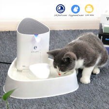 Ciotola/Fontana di Acqua Domestici,Auto Fontanella per Gatti e Cani con Filtro