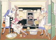 Nursery, Babies and Nurses, Little Angels, 1920s, Print - BUY 1 GET 1 FREE