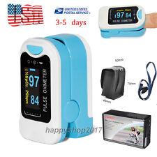 OLED Finger Tip Pulse Oxymeter sensor Heart rate SPO2 Monoitor Oxygen level USA