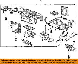 HONDA OEM 97-01 Prelude-Hvac Heater Core 79110S30A02