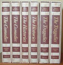 Shakespeare, Comedies, History, Tragedies 6 Volume Set, Heritage Press