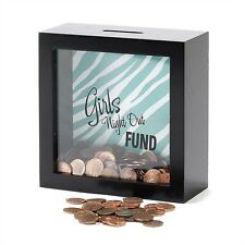 Girls Night Out Fund Shadow Box Bank - FREE SHIPPING