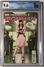 Invincible Iron Man #7 Variant CGC 9.6 🔥 1st Riri Williams 🔥 IronHeart Disney+