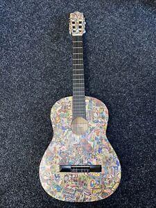 Marvel Customised Hohner Acoustic Guitar - Rare - Read Description