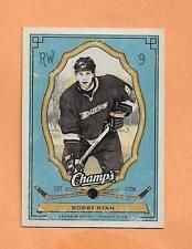 BOBBY RYAN  UPPER DECK CHAMPS 2009-10 CARD # 2
