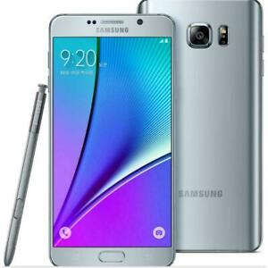 Samsung Galaxy Note 5 SM-N920 32GB 64GB AT&T T-Mobile Verizon 4G Unlocked Silver