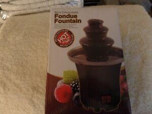 New Mini Choc. Fondue Fountain