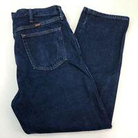 Rustler Denim Jeans Mens 40X30 Blue Straight Leg 100% Cotton Medium Wash Zip Fly