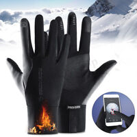 Gants de Ski hiver chaud coupe-vent imperméable à l'eau anti-dérapant thermique