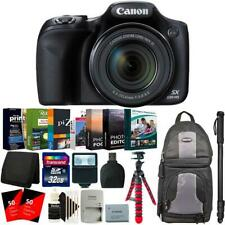 "Canon PowerShot SX530 HS Digital Camera + 62"" Monopod and Accessory Kit"
