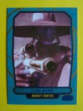 2012 Topps STAR WARS: Galactic Files INSERT/Parallel BLUE FOIL Card 234 #347/350