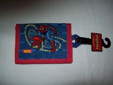 Vintage 2002 SPIDER-MAN Tri-fold Embroidered WALLET - BRAND NEW with TAGS