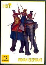 HaT Miniatures 1/72 INDIAN ELEPHANT with Crew Figure Set