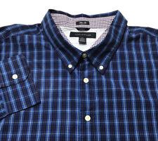 Tommy Hilfiger Dress Shirt Slim Fit XXL Plaid Button Down Cotton $79 NWT