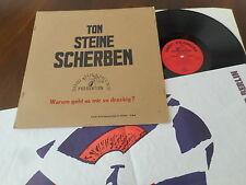 TON STEINE SCHERBEN Warum Geht Es Mir So Dreckig FIRST PRESS  LP 1971 + Poster