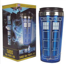 Doctor Who Police Box Cup Stainless Steel Vacuum Thermoses Travel Mug
