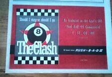 "CLASH Should I Stay Or Go 1991 1991 UK  Press ADVERT 12x8"""